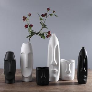 Çin Modern Seramik Vazo İçin Düğün Dekorasyon Ev Dekorasyonu Salon Dekorasyon Porselen Vazo Şekil Başlığı Şekli Vazo
