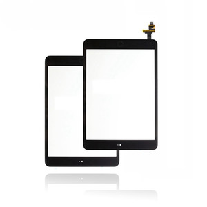 Tested Digitizer Touch Screen for Apple iPad mini 1 A1432 A1454 A1455 Front Glass Lens with Button + IC