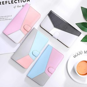 Splicing Flip Leather Wallet Case For Coque iphone 11pro xs max Case iphone 6 7 8 plus xr x Phone Case Cover Shell YY