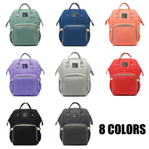 Fashion Designer Mommy Backpacks Multifunctional Large Capacity Backpack With Pockets Insulated Bag for Outdoor Ativities 8 Clors