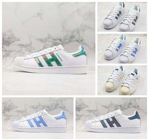 Yeni Ucuz Düşük OG Shell-Ayak parmakları Klasik Skate Ayakkabı Beyaz Demin Blue Diamond Casual Vintage Tasarımcı Eğitmen Sokak Spor Sneaker 36-44