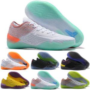 Новый Мамба день AD NXT 360 многоцветный желтый Страйк оранжевый баскетбольная обувь дешевые высокое качество мужские кроссовки Волк серый фиолетовый кроссовки