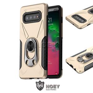 Creative-Hybrid Rüstung Telefon-Kasten für iPhone 11 Pro Max Samsung S20 S10 Plus-A80 A70 A50 A10 Neue Entwurfs-Ständer Abdeckung Noey