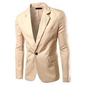 NEW Mens Fashion Brand Blazer British's Style Casual Slim Fit Suit Jacket Male Blazers Men Coat Terno Masculino Plus Size