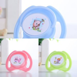 Pacifier baby cartoon pattern printing bite Silicone music safety silicone nipple nipple head