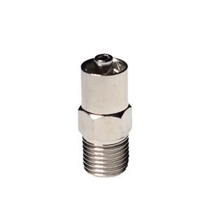 M10 locking head luer lock adapter screw endoptional for automatic dispensing valve