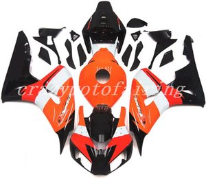New Style ABS Injection Mold motorcycle Fairings Kits 100% Fit For Honda CBR1000RR 06 07 2006 2007 Cowling bodywork set Custom orange black