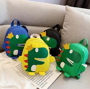 Bebés de dinosaurio de la mochila para niños lindos de la historieta cuerpo animal Diseño Mini Bolsa de hombro Boutique