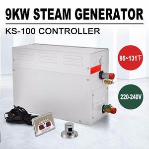 حار بيع 9 KW مولد البخار دش مولد 220V ساونا حمام سبا الرئيسية ST سلسلة البخار