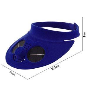 Estate Sport Outdoor protezione del cappello Con solar ventola di raffreddamento Bicicletta Arrampicata Piccolo aria condizionata Appliances Solar Fan Hat Vai Corde