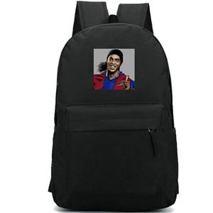 رونالدينيو ظهره رونالدو دي أسيس موريرا كرة القدم daypack حقيبة مدرسية لكرة القدم الطباعة دائم عارضة حقيبة مدرسية في الهواء الطلق حزمة اليوم