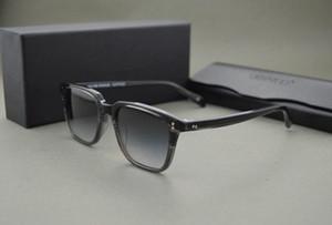 HEISS! Benutzerdefinierte gefärbte Linse oliver ov5031 NDG-1-P Sonnenbrille Männer und Frauen Völker Jahrgang Quadrat Sonnenbrille mit ursprünglichem Fall