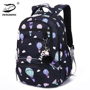 100% New Grande schoolbag Student bonito Backpack impressos impermeáveis Bags Bagpack Escola Primária Livro para Meninas Adolescentes Crianças