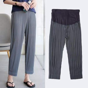 Summer Maternity Loose Pants Soft Adjustable Waist for Pregnant Women Pregnancy Clothes Ropa Mujer Embarazada Premama Enceinte