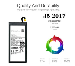 Samsung J3 J5 J7 2015 2016 2017 G530 Toptan batterie batteria Ücretsiz Kargo 20pcs / lot için Yedek% 100 Orijinal Kapasite Pil