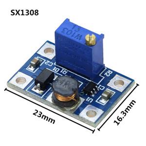 Smart Electronics DC-DC SX1308 Module d'alimentation ajustable Step-Up Convertisseur élévateur de tension 2-24V à 2-28V 2A