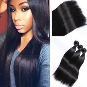 Наращивание волос 1 шт Синтетические волосы прямые Hairpieces для женщин Белый Красный Фиолетовый Розовый Синий Ложный волос