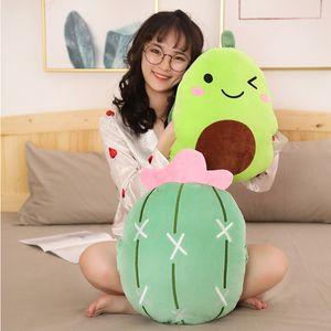 40 centimetri cartone animato morbido peluche giocattoli frutta creativi e verdura fragola carote avocado peluche cuscino peluche per i bambini di