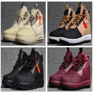 2021 Çizmeler LF1 Duckoot Yüksek Kaliteli Güçleri I Bir Erkek Ayakkabı Accessori Unisex Masaj Düşük Düz Eğlence Ayakkabı Erkekler 1Skateboarding Ayakkabı 40-47