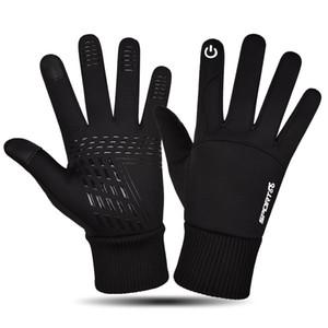 New Hot Sale Mens Winter Keep Warm Водонепроницаемый вождения перчатки высокого качества перчатки Сенсорный экран для подарка