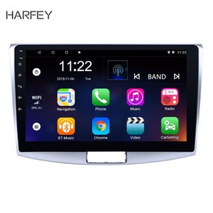 Rádio Harfey Car Navi HD Android9.0 Auto 2Din Para VW Magotan B7 Bora Golf 6 2012-2014 Multimedia Player com WIFI GPS dvd carro