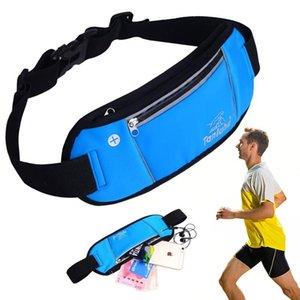 Bolsa de Cintura Homens Mulheres Sports Multi-função Correndo cintura Bag respirável reflexiva Tiras de telefone Bloco de Fanny Móvel Bag Belt
