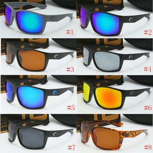 Damen Luxus-Designer-Sonnenbrille Costa Radfahren polarisierte Sonnegläser UV-400 100% Schutz und weise Marken Strand-Sonnenbrille Verschiffen