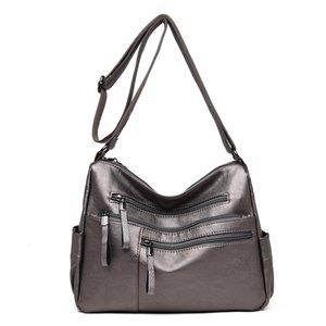 Crossbody Bags For Women Genuine Leather Shoulder Bag Flap Handbags Women Bags Purse Satchel Sac C1235