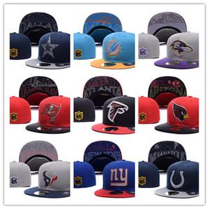 cappelli da baseball snapbacks misura delle donne degli uomini caldi di vendita di tutti i squadre Cappelli uomo Sport piatto Cappello Cappelli Hip-Hop