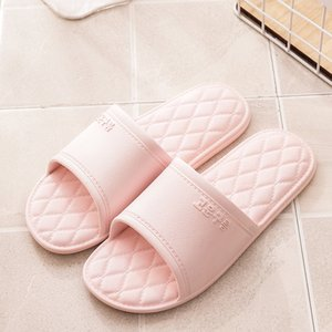 Free shipping hot sale new Korean female indoor bathroom slippers non-slip bath slippers factory direct pvc slippers for spring summer