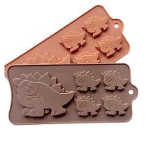Новый 5 способ динозавра силикагель формы шоколада силикагель плесень сетки льда