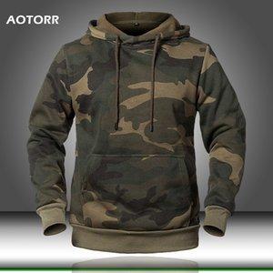 Men Hoodies Camouflage Hoody Men's Army Hoody Military Hoodie Casual Streetwear Hooded Sweatshirts Moletom Masculino 2020 Male T200530