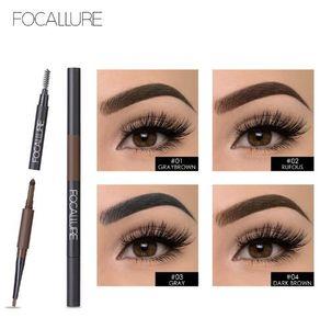 Waterproof Eyebrow Pencil 3 in 1 Auto Brow Pen Shades Brush Powder Tint No Tone Make up Eye Buy 1 Get 1 Mascara