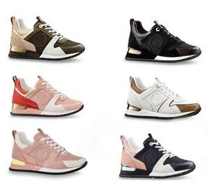 Scarpe casual in pelle popolare di lusso calde Scarpe da donna in pelle design per uomo Scarpe in pelle con lacci per scarpe Colore misto