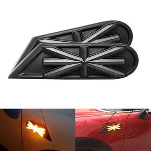 For Mini Cooper R55 R56 R57 R58 R59 Car Dynamic Blink Side Marker Light LED Turn Signal Indicator Accessories