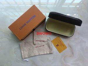 10pcs, lo stile del marchio di moda originale casi scatola di carta pulita per gli occhiali da sole design piacevole cassa di vetro di marca sole, scatola ed il panno pulito