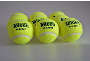Quality Tennis ball for training 100% synthetic fiber Good Rubber Competition standard tenis ball 1 pcs low price on sale