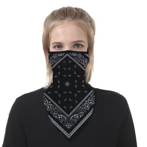 D58wZ diadema nueva llegada estilo transparente Versatilidad Bandana bufanda del tubo de cráneo turbante 401-430 hijab Bandana Máscara sombreros