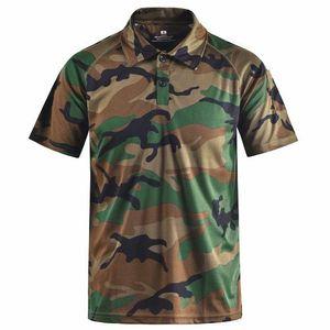 S Shirts Tactical camuflagem camisa polo Verão Roupa descontraída Mege Marca Men Roupa' com Patches Typhon Multicam Fast Dry Well