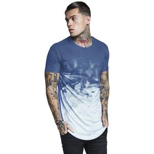 Inchiostro stampato Designer MAGLIETTA sottile Nuovo palangaro Moda Casual Camicie Maniche corte Mens UE Size T estive
