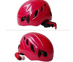 Climbing Helmets wholesale outdoor equipment super light mountaineering rock climbing helmet cave exploration safety helmet