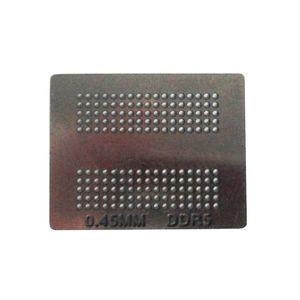 4pcs / definir molde de aço bola BGA reballing stencils 0,50 milímetros 0,55 milímetros 0,45 milímetros directa aquecimento solda para estação reball PS4 IC