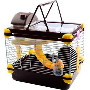 Hamster Кейдж Сон Гранд Замок Rat Вилла Крупногабаритные Прозрачный Большой Nest