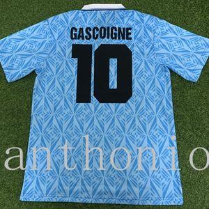 Top 1991/1992 Lazio Soccer Jersey Star Gascoigne 10 Veron 23 Simeone 14Classic خمر تايلاند جودة موحدة كرة القدم قميص camiseta كيت فوتبول الفانيلة حجم S-XXL