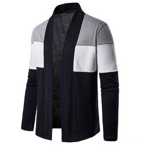캐주얼 카디건 남성 스웨터 남성 의류 스웨터 가을 봄 남성 긴 소매 스트리트 한국형 캐주얼 카디건 새로운 패션 남성