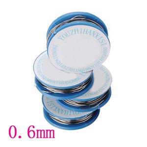 0,6 mm 63/37 NEU 2,0% Zinn Blei Kolophonium Kernlot Löten Schweißdrahtaufroller FLUX