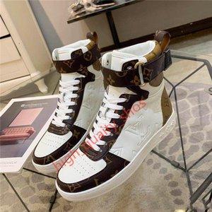 Louis Vuitton Shoes 2020New الرجال والنساء BOOMBOX حذاء رياضة أحذية BOOT 1A5MWJ الرجال الأحذية الرياضية أحذية نسائية عارضة حجم أعلى جودة 35-45hococal