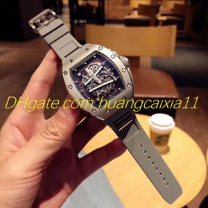 Мужские классические часы Fusion с фабрикой прямого выпуска 2019 года, оригинальный автоматический механический механизм, диаметр 43 мм, резиновый ремешок с пряжкой, т