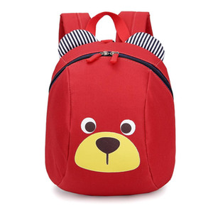 Newest Kids Baby Bag Cute Cartoon Backpack Anti-lost Backpack School Bag backpacks With Traction Rope Dropship