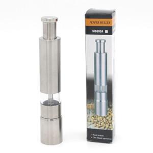 الفولاذ المقاوم للصدأ مطحنة الفلفل المحمولة دليل الفلفل مولر توابل طحن آلة طحن البسيطة الطبخ أدوات أدوات المطبخ DBC VT1030
